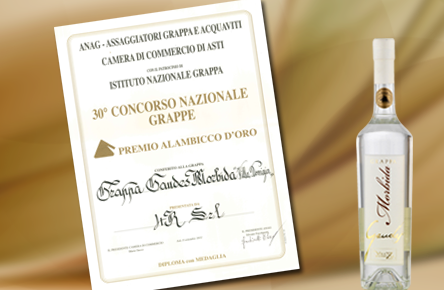 Grappa Gaudes Morbida